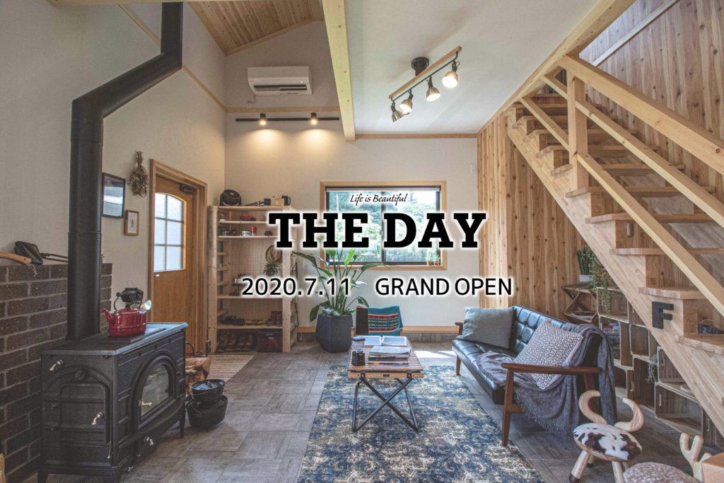 新モデルハウス「THE DAY」7/11グランドオープン!